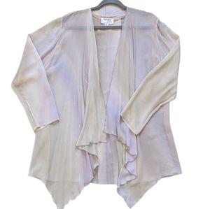 Yolanda Lorente Hand Painted Silk Jacket Pants